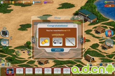 釣魚天堂3D Fishing Paradise 3D v1.1.6.4-Android模拟经营類遊戲下載