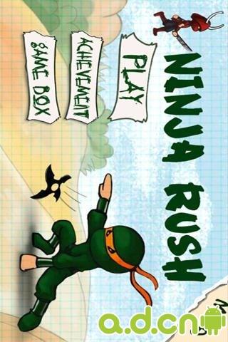【免費冒險App】忍者突袭高清版 Ninja Rush HD-APP點子