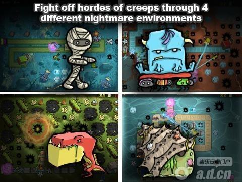 惡魔出籠 The Creeps! v1.14.01-Android策略塔防類遊戲下載