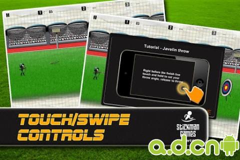 玩體育競技App|火柴人游戏:夏季奥运会 Stickman Games : Summer Full免費|APP試玩
