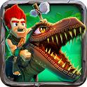 原始人跑酷 Caveman Dino Rush 體育競技 App LOGO-硬是要APP