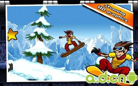 滑雪小子2 修改版 iStunt 2 - Snowboard