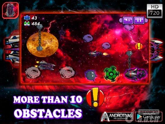 殭屍飛船 Zombies Space HD v1.0-Android益智休闲類遊戲下載