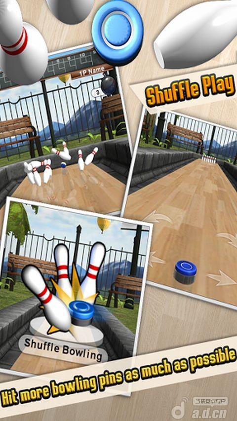 沙弧保齡球2 iShuffle Bowling 2 v1.5.2-Android体育运动類遊戲下載