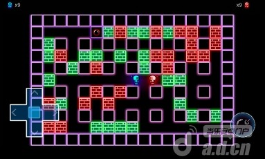 彩色炸彈人 GlowBomber v1.1-Android益智休闲類遊戲下載