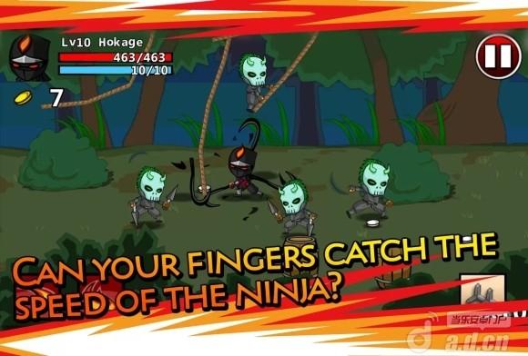 忍者:卷轴大战 修改版 Ninjas: STOLEN SCROLLS